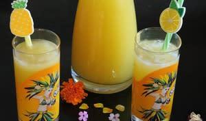 Ananas fizz au gingembre