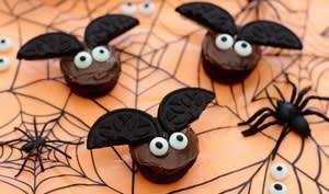 Muffins chauve-souris