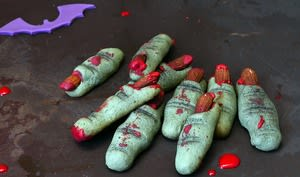 Biscuits doigts de monstres