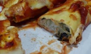 Cannelloni ricotta et aubergine