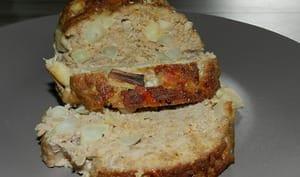 Pain de viande aux salsifis