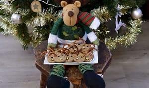 Sablés rennes de Noël aux olives