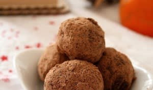 Truffes à l'orange confite
