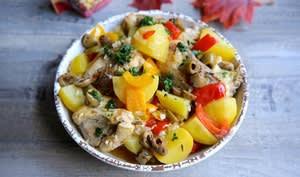 Poulet cocotte aux Olives à Cuisiner à la Marocaine