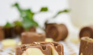 Chocolats de Noël comme des schoko-bons