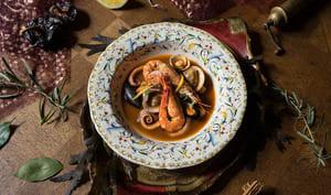 Brodetto di pesce dell'Adriatico