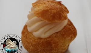 Mini choux chantilly vanille