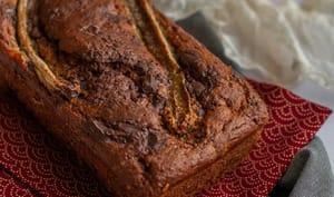 Banana bread aux pépites de chocolat noir