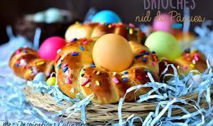 Brioches nids de Pâques