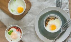 œufs cocotte