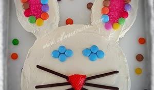 Lapin en gâteau de Pâques