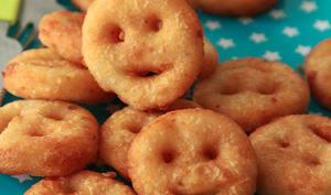 Pommes de terre frites sourires