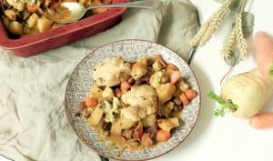 Cobbler salé aux légumes d'hiver