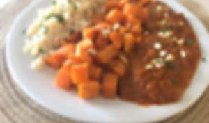 Patates douces au curry