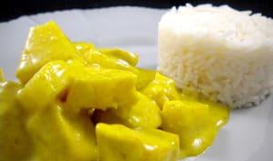 Poulet au curry et à l'ananas