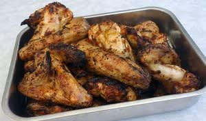 Ailerons de poulet au sirop d'érable