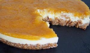Cheesecake Ananas-Gingembre