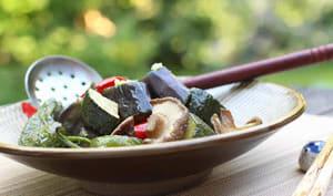 Légumes d'étés marinés à la japonaise