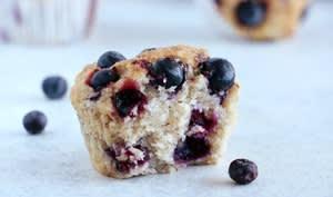Muffins vegan aux myrtilles