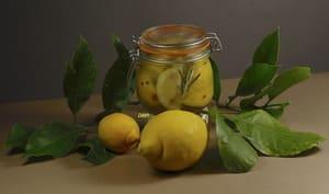 Citrons confits au sel
