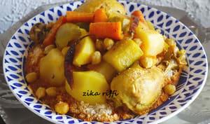 Couscous tunisien épicé