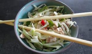Salade vietnamienne au poulet et menthe de Nigella Lawson