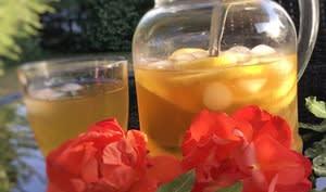 Thé vert glacé au citron intense