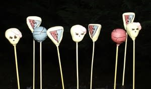 Cakes pops Monster High