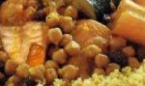 Couscous aux légumes frais au Cookeo