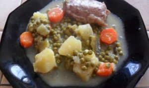 Blanquette de veau aux légumes au cookeo
