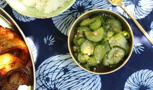 Salade de concombre à la coréenne