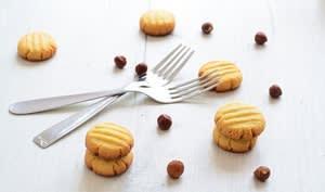 Biscuits Noisette aux jaunes d'oeufs