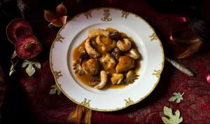 Sauté Gourmand de crêtes de coq