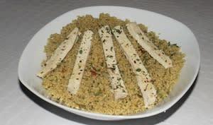 Taboulé de quinoa et poulet