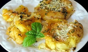 Ecrasé de pommes de terre au parmesan