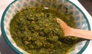 Sauce Pesto Au Basilic