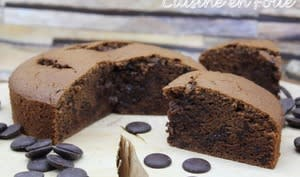 Le crousti-fondant au chocolat