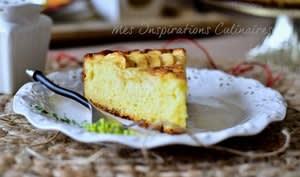 Gâteau moelleux aux pommes au mascarpone