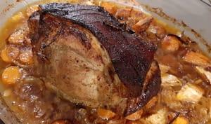 Rôti de porc à la bavaroise