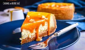 Cheesecake au caramel au beurre salé