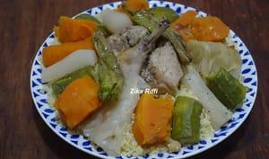 Couscous aux légumes et poulet