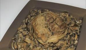 Rôti de veau aux champignons et au poivre de Sarawak