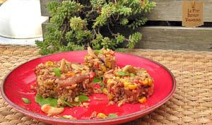 "Salade Tiède de ""Quinoad'cajou"" au Miel"