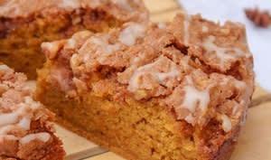 Gâteau à la courge butternut