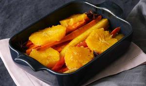 Légumes rôtis à l'orange et aux épices