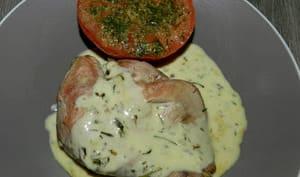 Filet de faisan avec sa sauce au citron et herbes du Causse