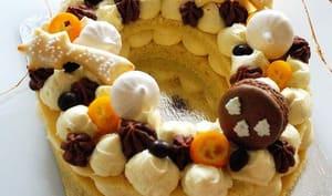 Letter cake de Noël
