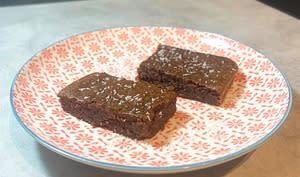 Fondant à la crème de marrons et au chocolat