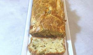 Cake aux olives et au thon