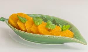 Salade d'oranges thaïlandaise